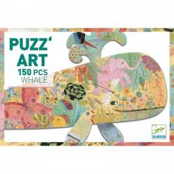 Puzzle artystyczne WIELORYB...