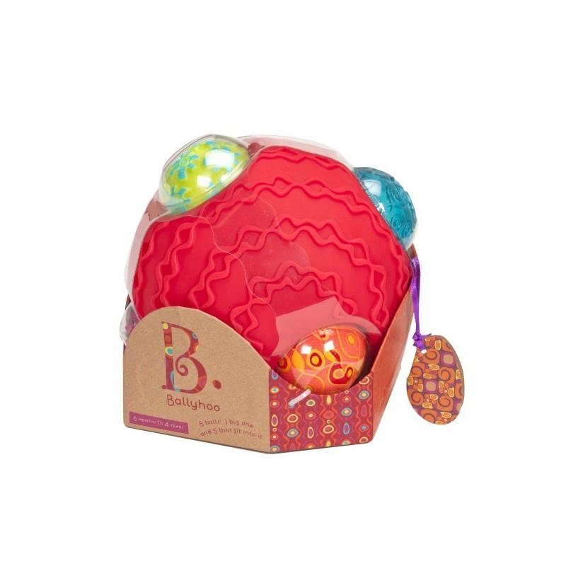 B.Toys Ballyhoo - Kula Sensoryczna z Piłkami