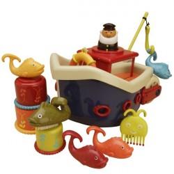 Zestaw do kąpieli statek -...