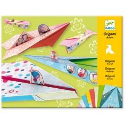 Origami Tęczowe Samoloty