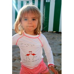 Swimming Trunk girls Red Stripes 6Y
