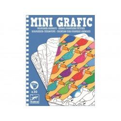 mini grafika - kolorowanie zwierząt