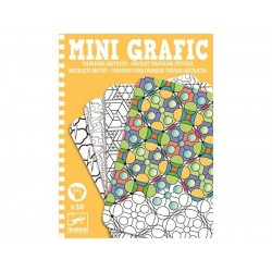 mini grafika - kolorowanie abstrakcji