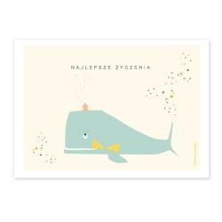Kartka wieloryb