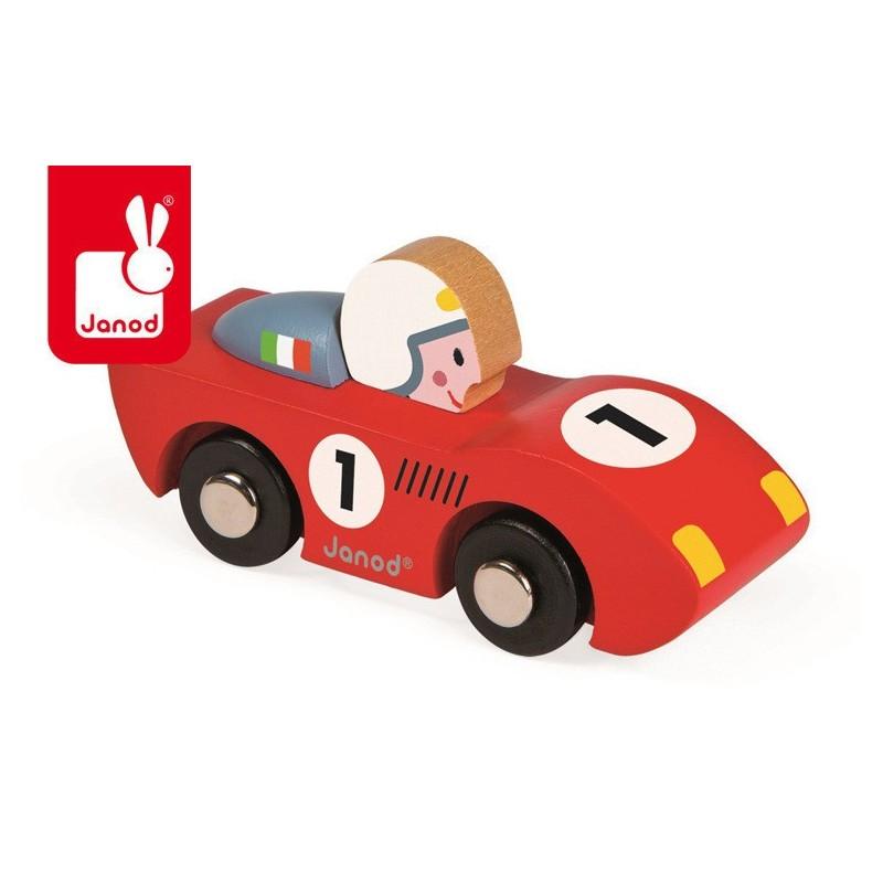 Janod Wyścigówka drewniana Speed