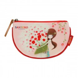 Santoro Kori Kumi - Płaska portmonetka - Pretty As A Flower
