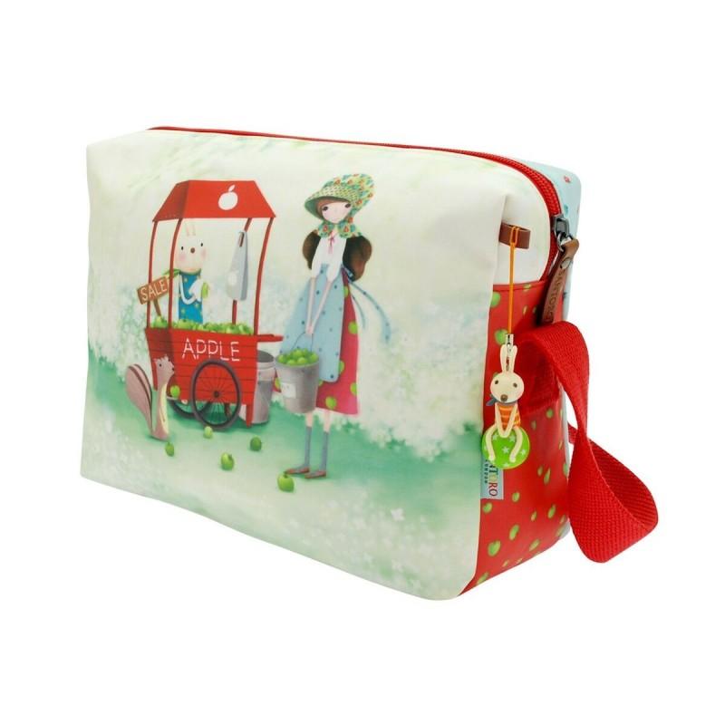 Santoro Kori Kumi  torba na ramię -an apple a day