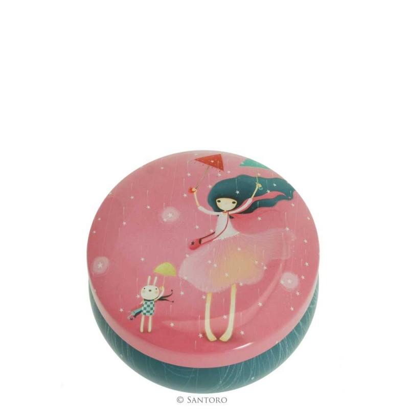 Santoro Kori Kumi - Blaszane pudełko na ozdoby Under My Umbrella