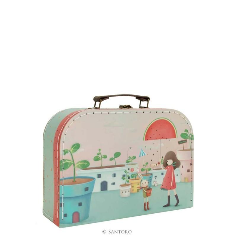 Santoro Kori Kumi walizka średnia - Melon Showers