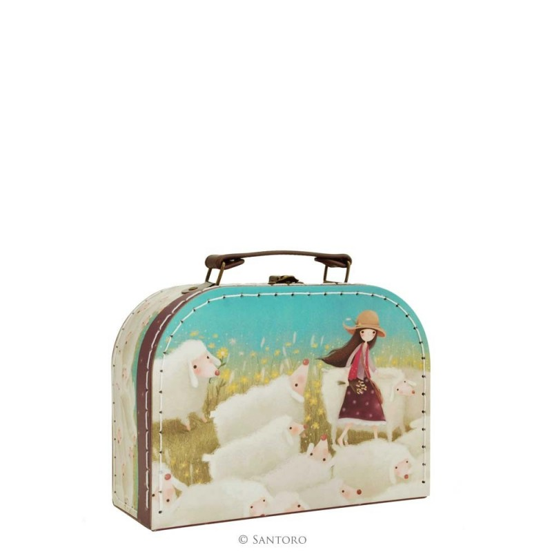 Santoro Kori Kumi walizka mała Buttercup Meadow