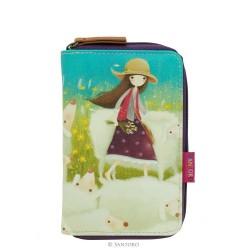 Santoro portfel na suwak Buttercup Meadow