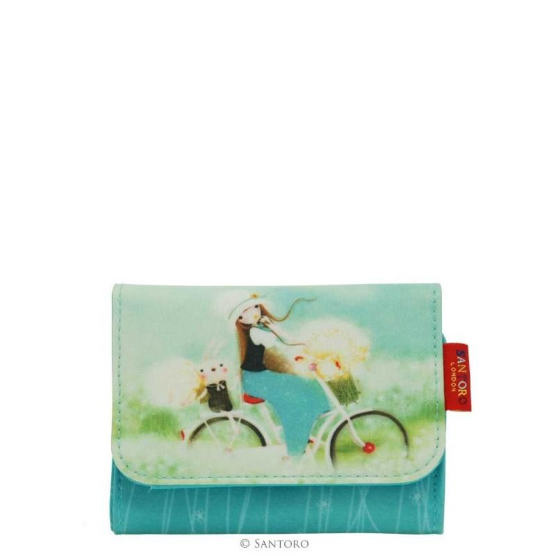Santoro Kori Kumi portfel składany summertime