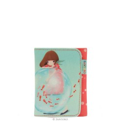 Santoro Kori Kumi portfel składany Little Fishes