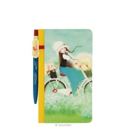 Santoro Kori Kumi notatnik z długopisem Summertime