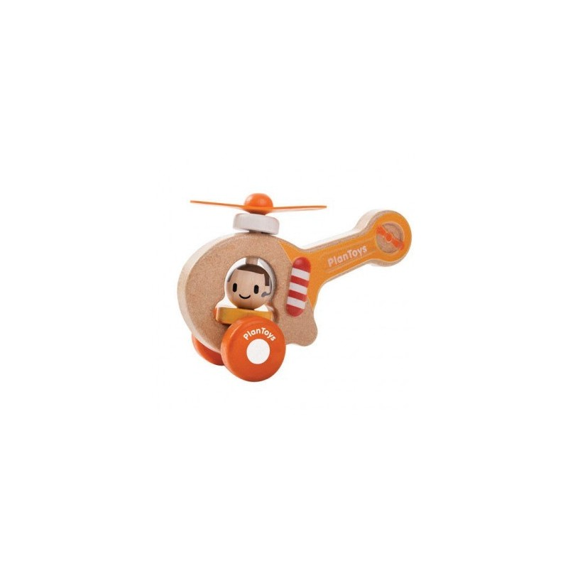 Plan Toys Drewniany Helikopter