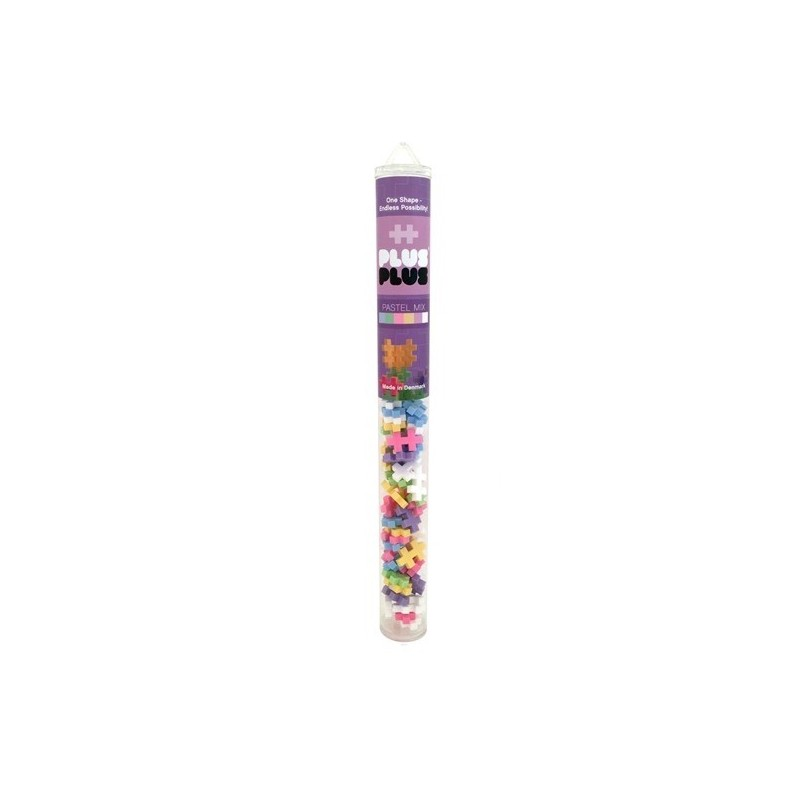 Klocki Plus-Plus Mini pastel tuba