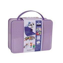 Plus Plus, metalowa walizka Mini 600 HIT! (500Pastel+100Neon+płytka+książeczka)