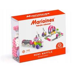 Marioinex Klocki Wafle Mini 140 szt. Konstruktor Dziewczynka