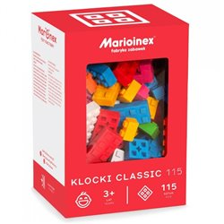 Marioinex Klocki Classic 115 szt.