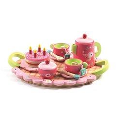 Djeco Drewniany zestaw Przyjęcie Urodzinowe