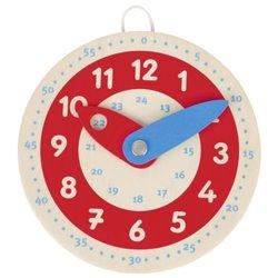 Goki Drewniany zegar do nauki godzin