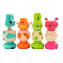 Djeco Drewniana zabawka śruby