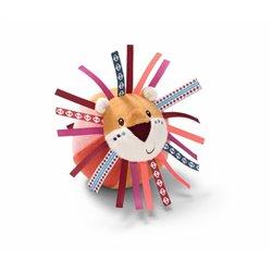 Lilliputiens Materiałowa piłka z dzwoneczkiem Dżungla Lew Jack