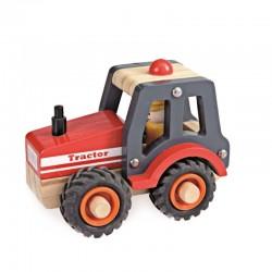 Egmont Drewniany traktor -...