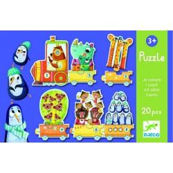copy of Djeco Puzzle pociąg